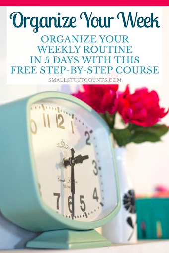 Free 5-Day eCourse: Organize Your Week!