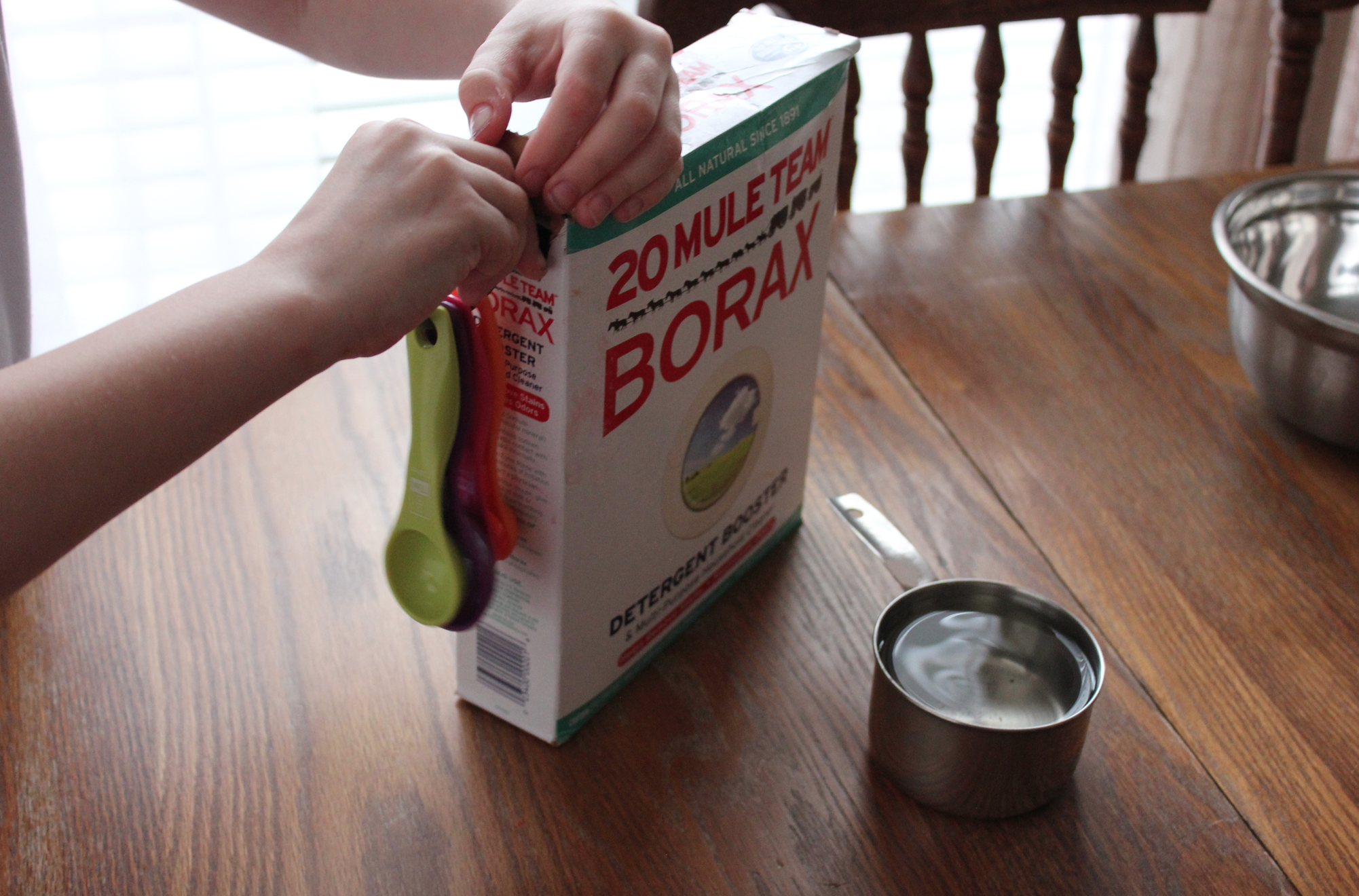 To Make Homemade Slime, Start By Making Slime Activator