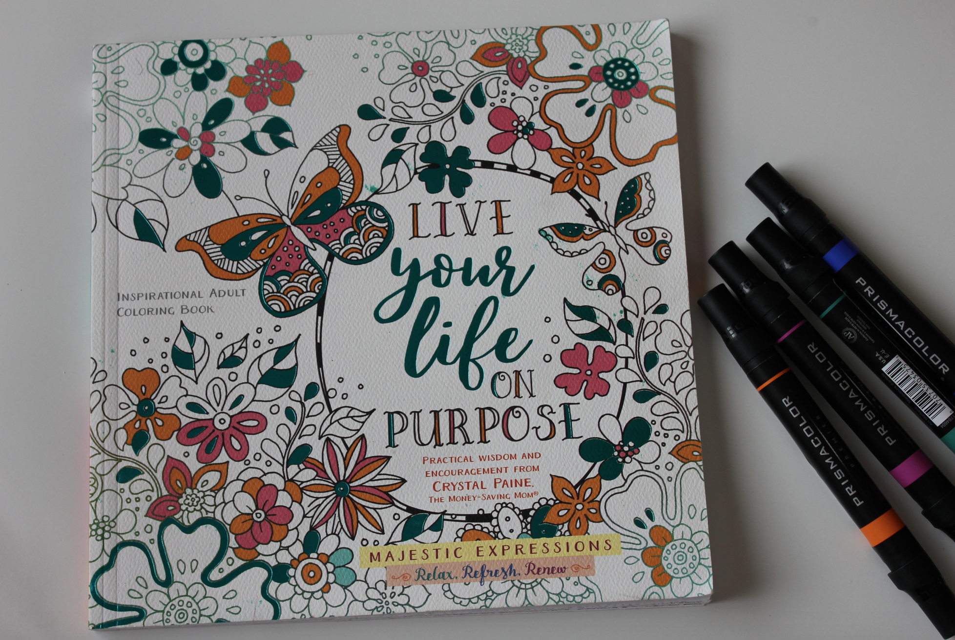 Im So Excited About Our New Live Your Life On Purpose Coloring Book As You Well Know I LOVE Adult Its Relaxing And A Great Way To Be