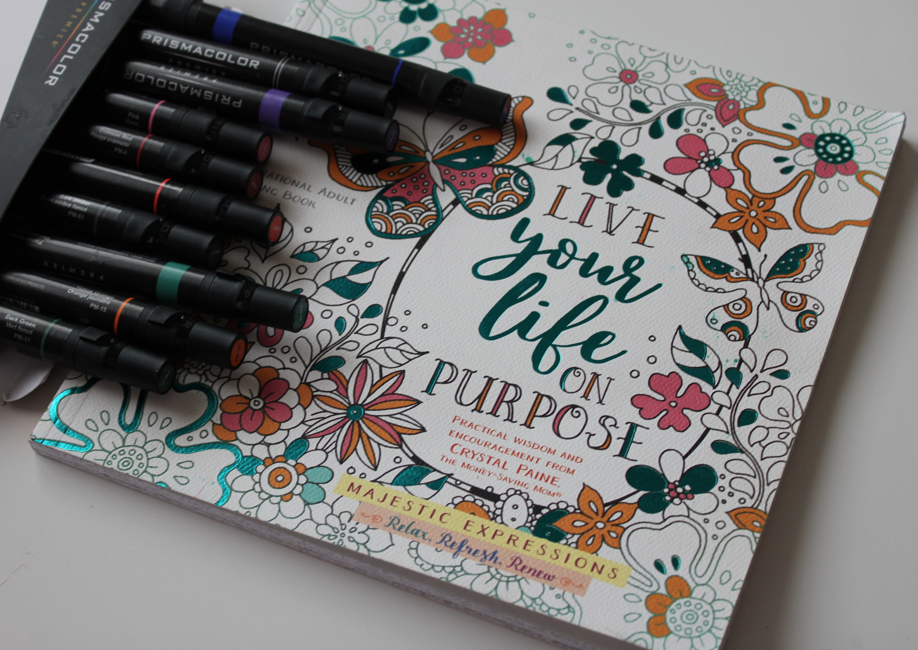 My new coloring book + FREE Handlettering resources! - Money Saving ...