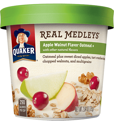 CVS: Quaker Oatmeal Medley Cups for just $0.88