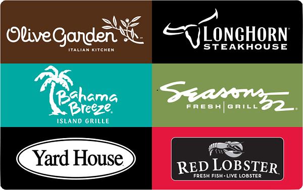 Free $10 Darden Restaurants Gift Card after rebate! - Money Saving ...