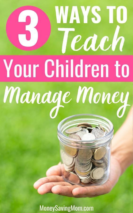how to teach your children money management skills