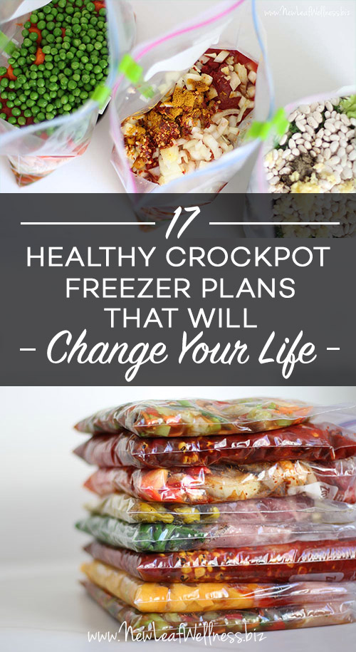 17 Healthy Crockpot Freezer Meal Plans That Will Change Your Life