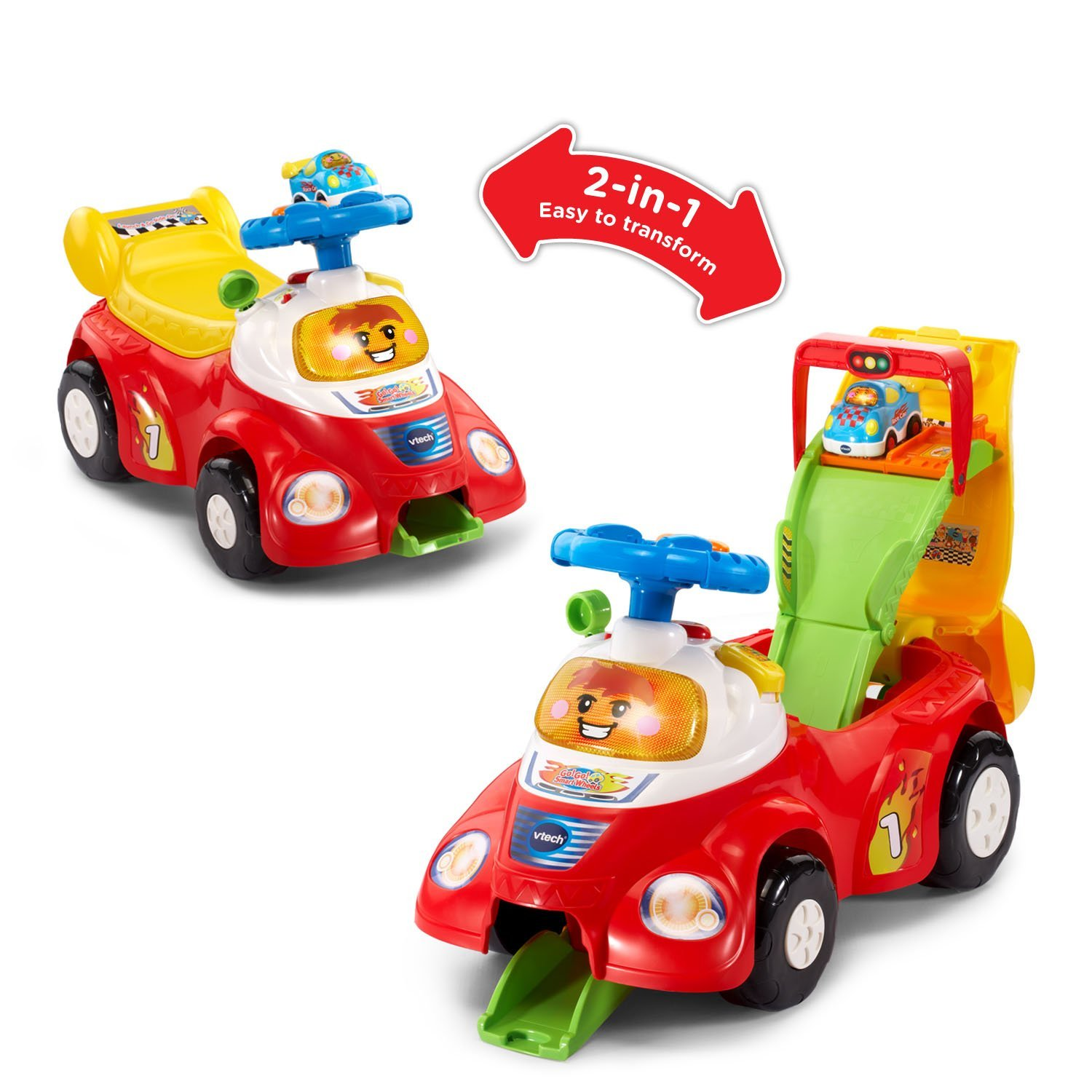 Amazon.com: VTech Go! Go! Smart Wheels Launch and Go Ride On for just $20.98!