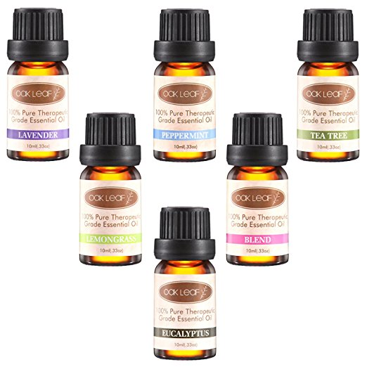 Amazon.com: Oak Leaf Essential Oils 6-pack only $9.99 shipped!