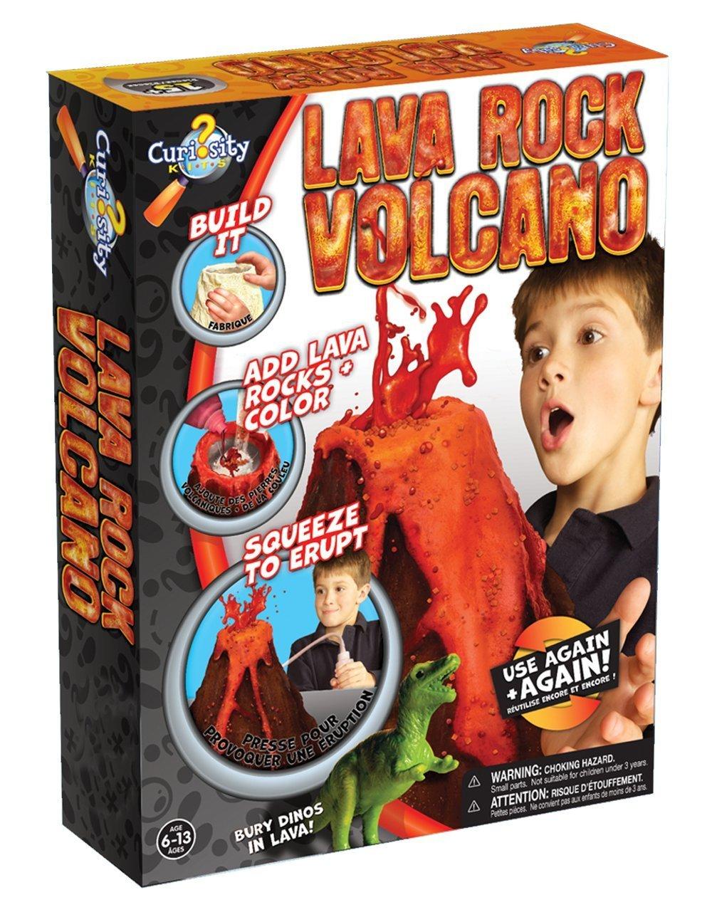 Amazon.com: Curiosity Kits Lava Rock Volcano for just $12.50!