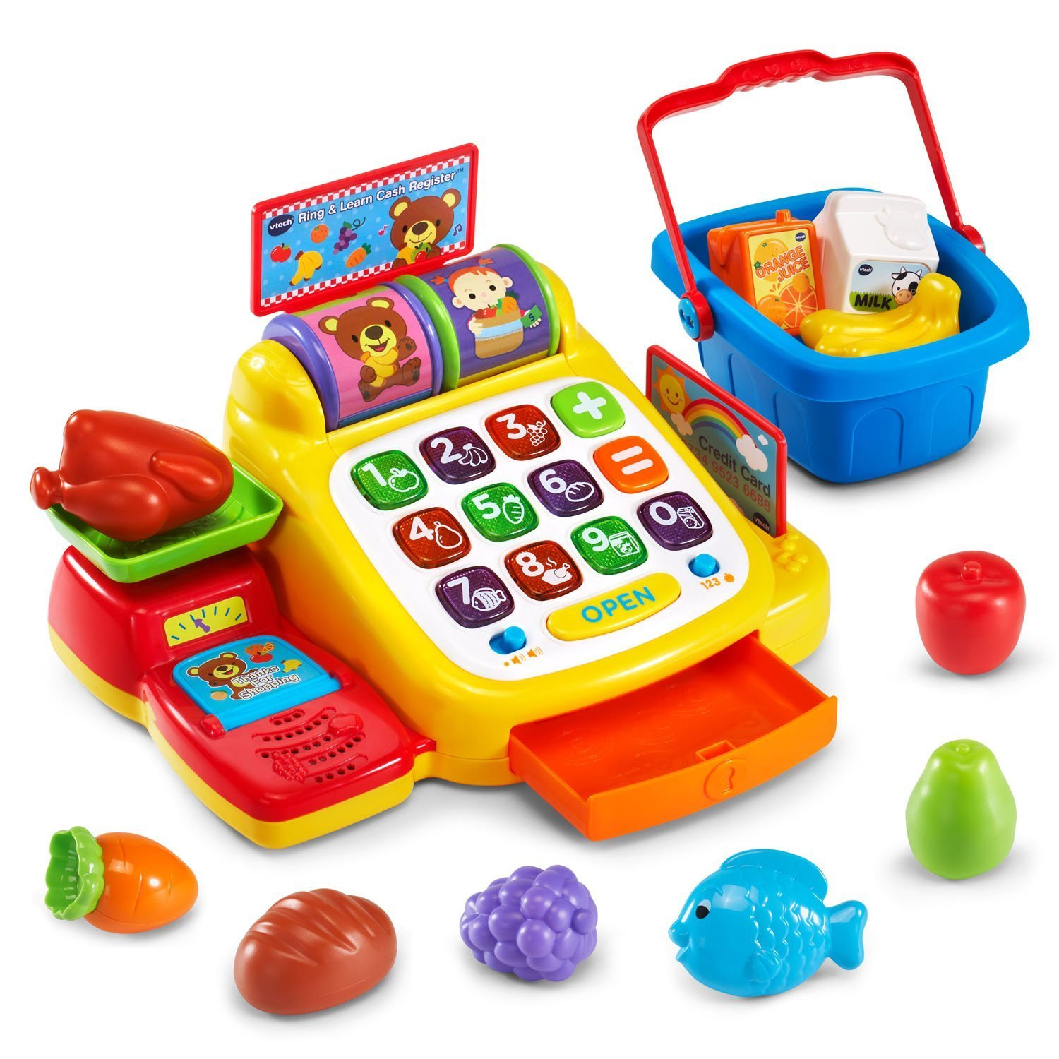 Amazon.com: VTech Ring and Learn Cash Register for just $14.98!