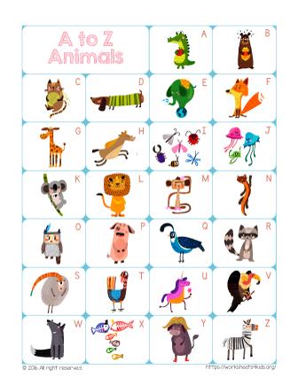 Free Printable ABC Chart