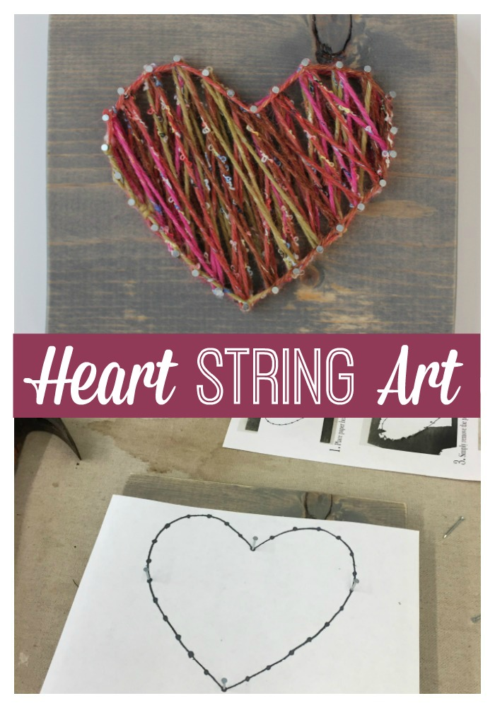heart string art tutorial money saving mom. Black Bedroom Furniture Sets. Home Design Ideas