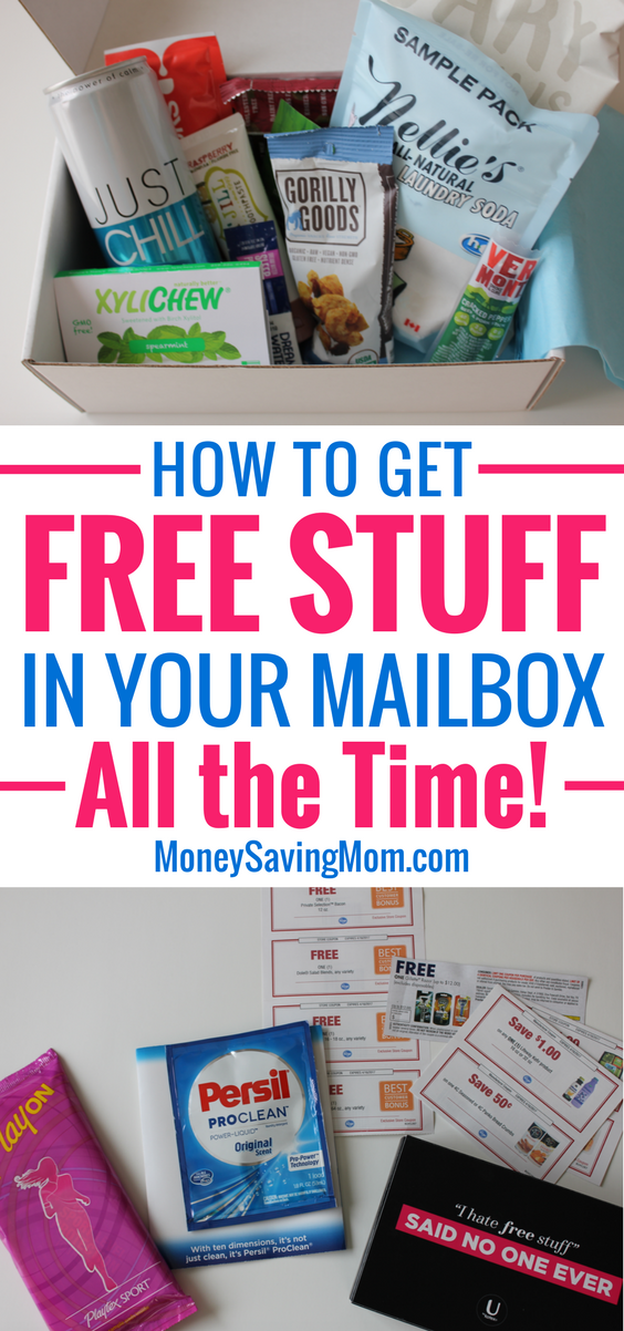 Get fun FREEBIES in your mailbox all year long with these simple steps!