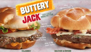 Jack In The Box coupon: Buy One, Get One Free Buttery Jack Burger!