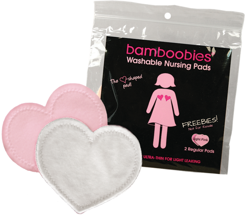 Free Bamboobies Washable Nursing Pads (Just Pay Shipping!)