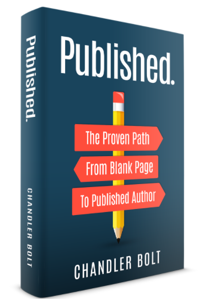 Get a free download of the Published eBook (The Proven Path from Blank Page to Published Author)