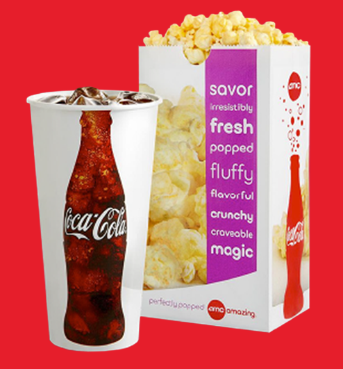 AMC Theaters: Drink and popcorn for just $5 with valid student ID