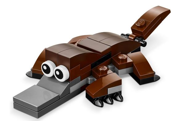 Free LEGO Platypus Minibuild on March 7-8, 2017