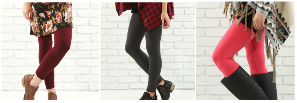 Jane.com: Ultra Comfy Solid Leggings for just $5.99 + shipping!