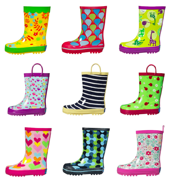 Amazon.com: Get Kids' Rain Boots as low as $15.99!