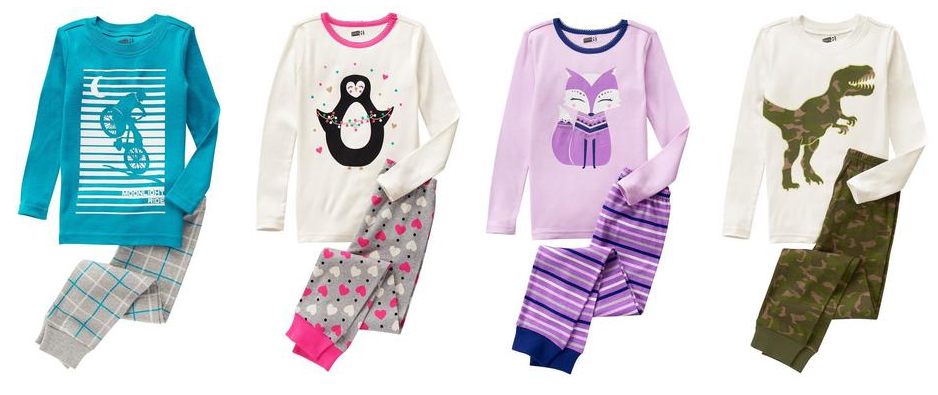 Get kids' pajama sets for just $5.85 shipped, plus more great deals today!