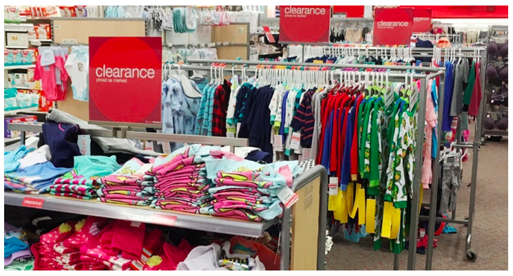 Stop by your local Target to check out the kids  clothing clearance  section! Many stores have select kids  clothing marked down as much as 70%  off right now ... 763a0a9dd82c