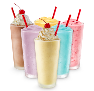 Sonic: Half Price Shakes and Ice Cream Slushes All Day on March 1, 2017