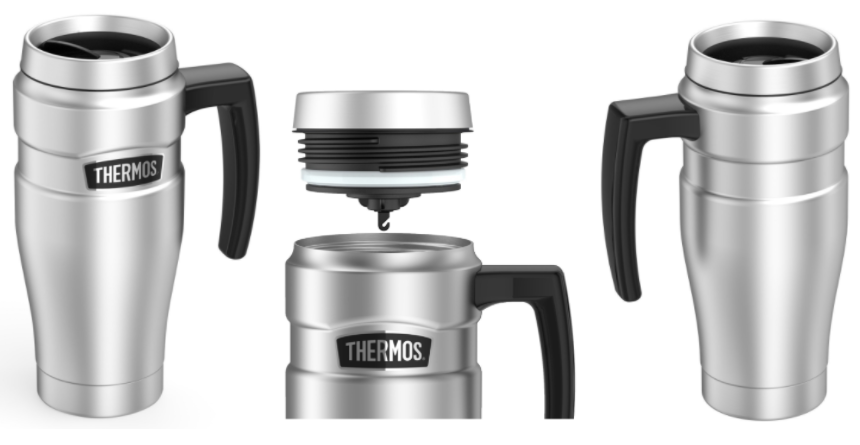Amazon.com: Thermos Stainless Steel Travel Mug for just $22.39!