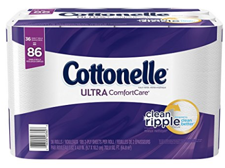 Amazon.com: Cottonelle Bath Tissue for just $0.36 per double roll, shipped!