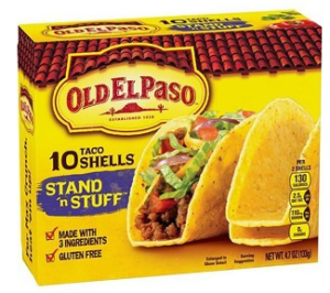 Target: Old El Paso Stand 'n Stuff Taco Shells for just $0.99!