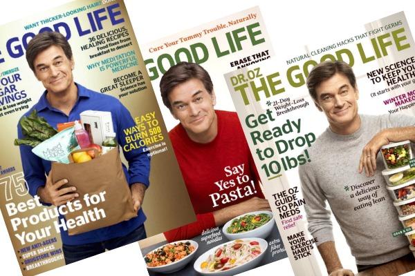 Rare! Dr. Oz The Good Life Magazine for $7.95!