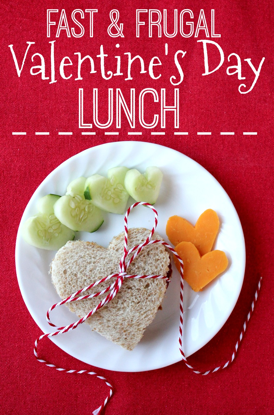 looking for a fast and frugal valentines lunch idea heres a simple twist on peanut butter and jelly and you probably have all of the ingredients in