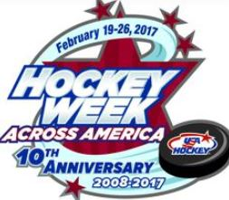 Try hockey for free Saturday, February 25th (ages 4-9 — 300 locations nationwide!)