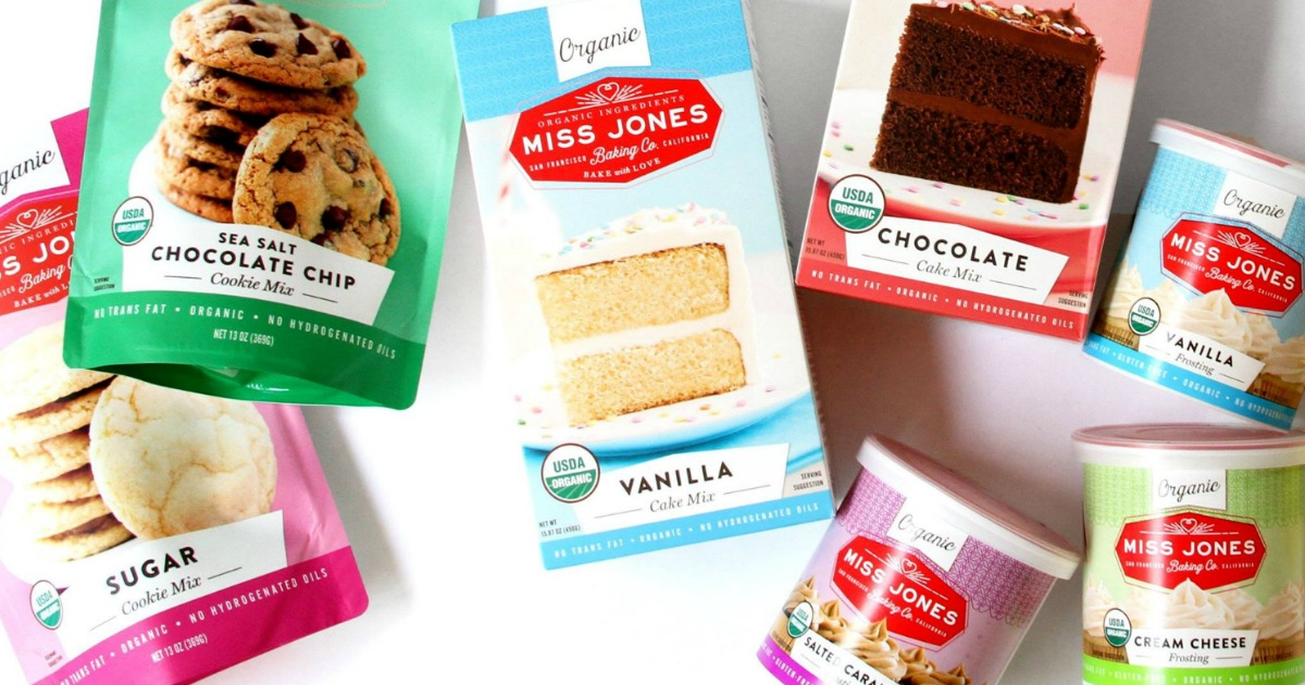 Target: Miss Jones Organic Baking Mix and Frosting for just $0.50 each!