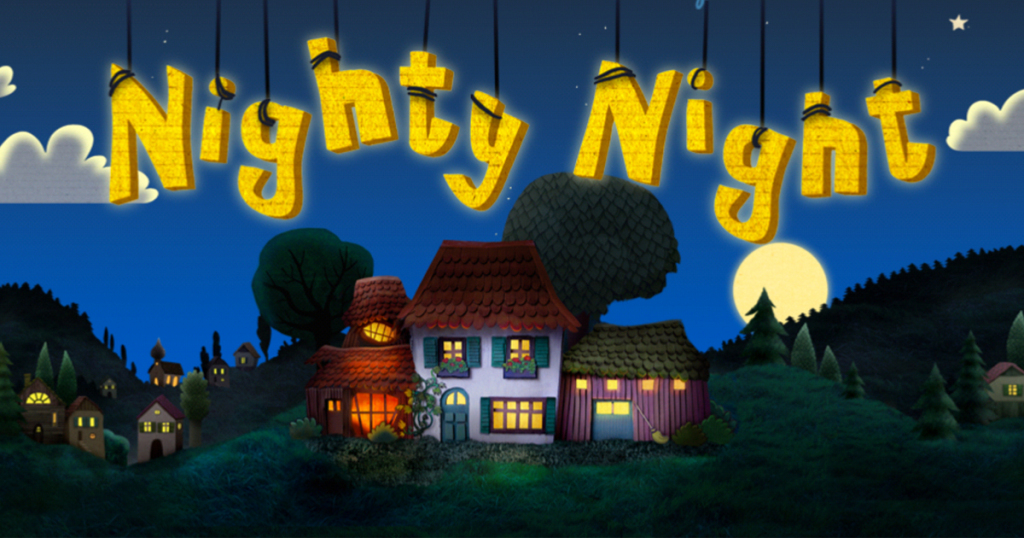 Free Nighty Night Bedtime Story App (iOS & Android)