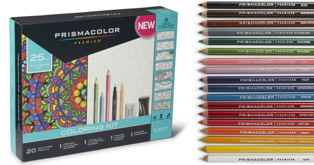 Walmart Prismacolor Adult Coloring Book Kit For Just 1498