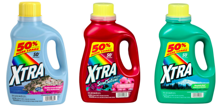 Get Xtra Laundry Detergent for just $0.99 at CVS or Walgreens!