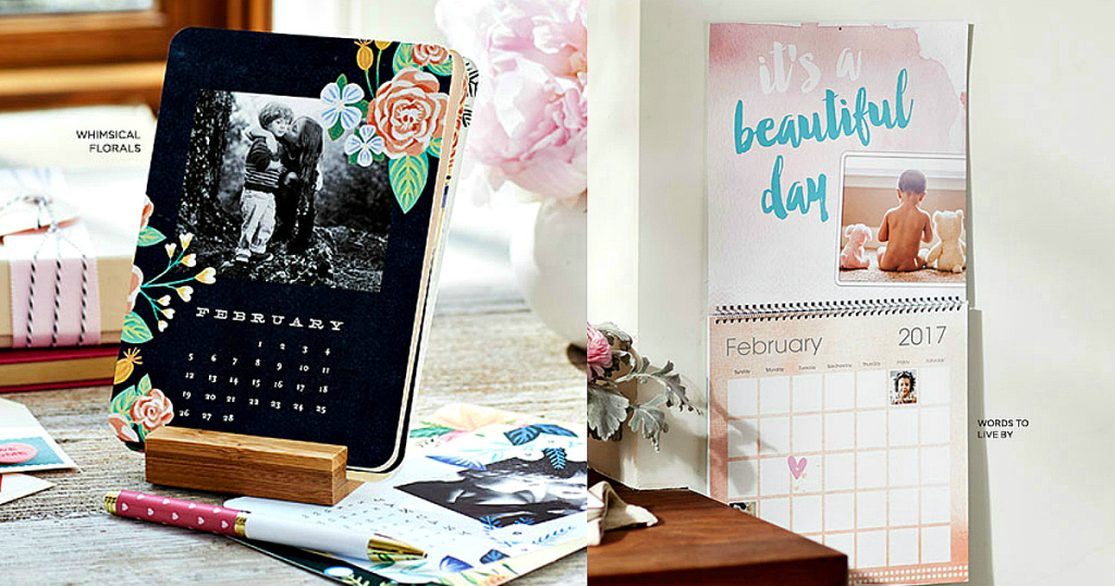 Shutterfly Free Custom Easel Or Wall Photo Calendar Just Pay