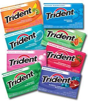 Target: Better than free Trident gum!