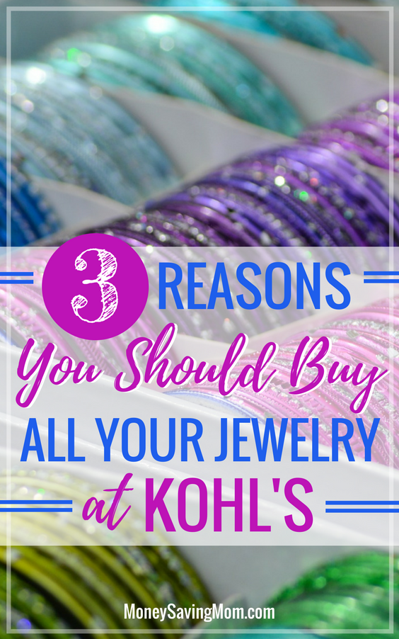 Jewelry Boxes At Kohl's Cool Why I Buy Almost All Of My Jewelry At Kohl's Money Saving Mom