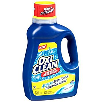 $2/1 Oxiclean Laundry Detergent printable coupon = $1.99 at Rite Aid and Walgreens!