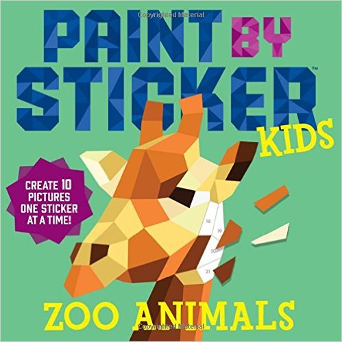 Amazon.com: Paint by Sticker Kids book just $4.49!