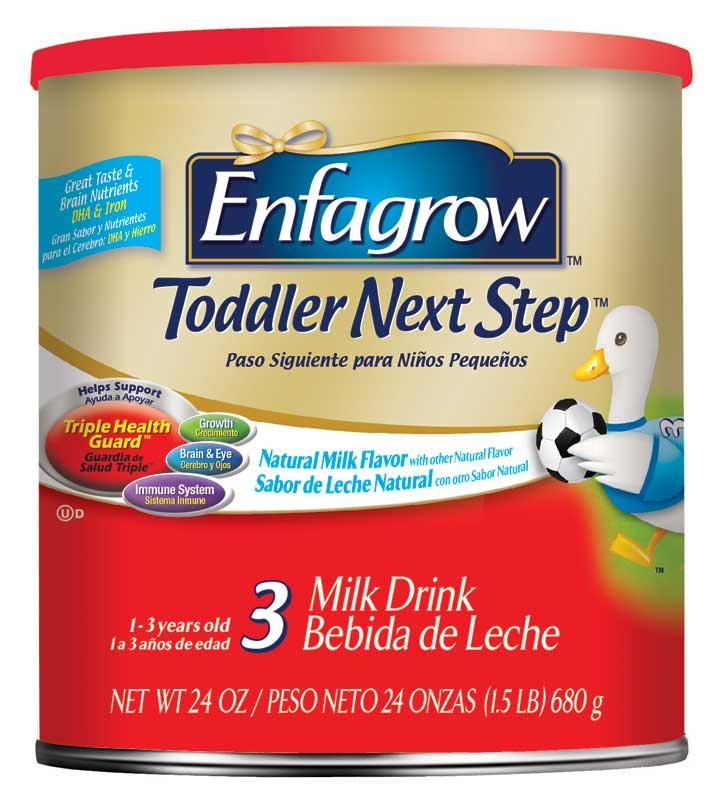 Free Enfagrow Toddler Next Step sample