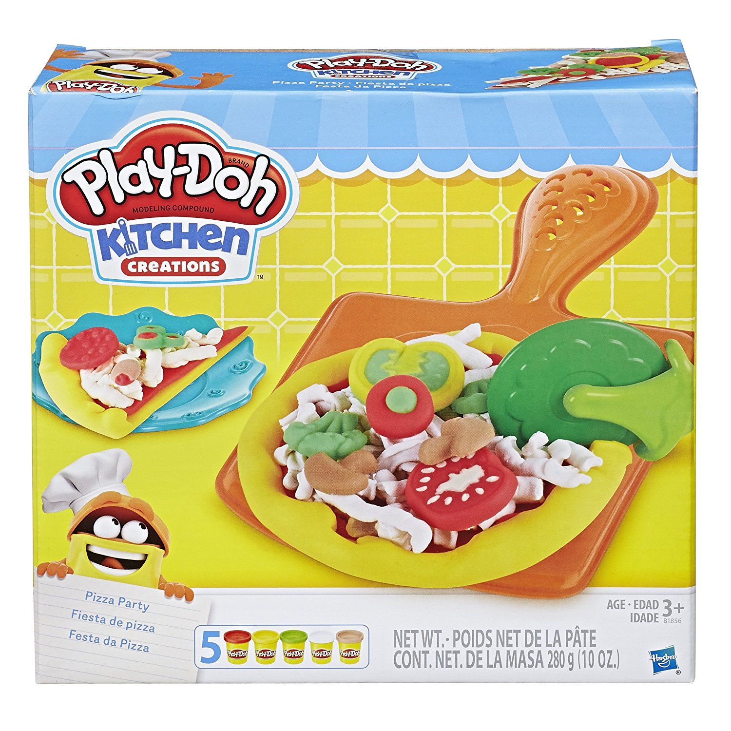 Amazon.com: Play-Doh Kitchen Creations Pizza Party just $6.99!
