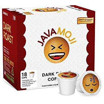 Free JavaMoji Coffee K-cup sample