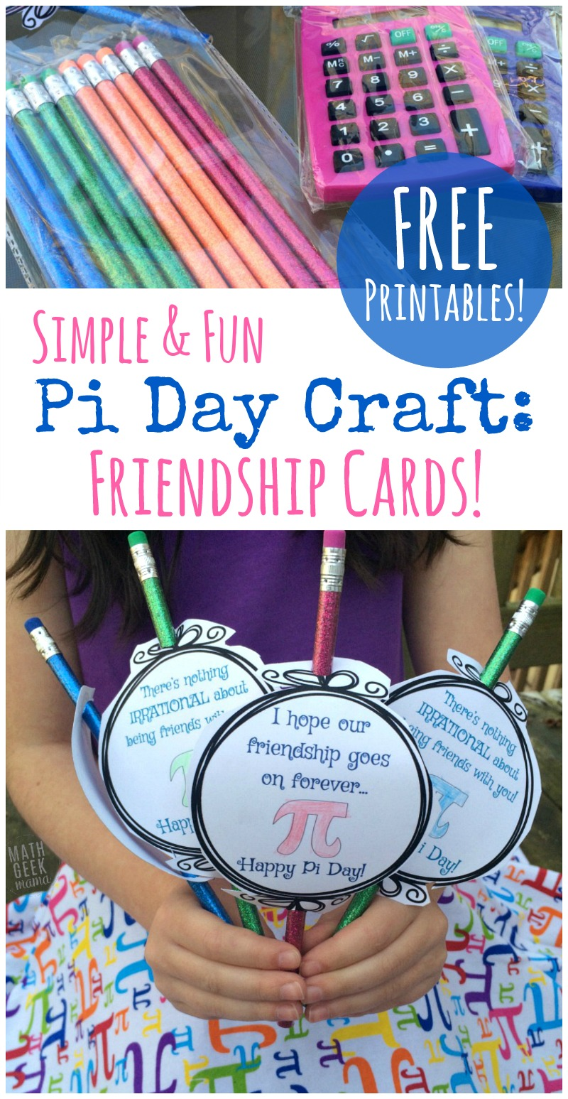Free Printable Pi Day Crafts for Kids