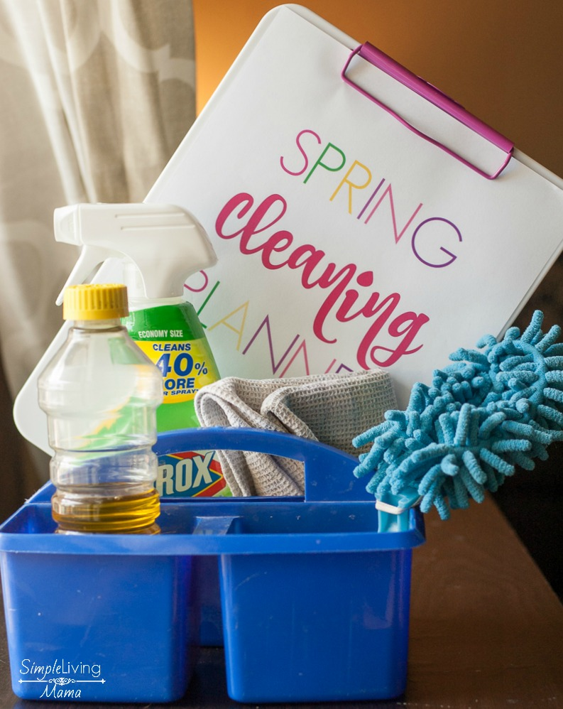 Free Printable Spring Cleaning Checklist