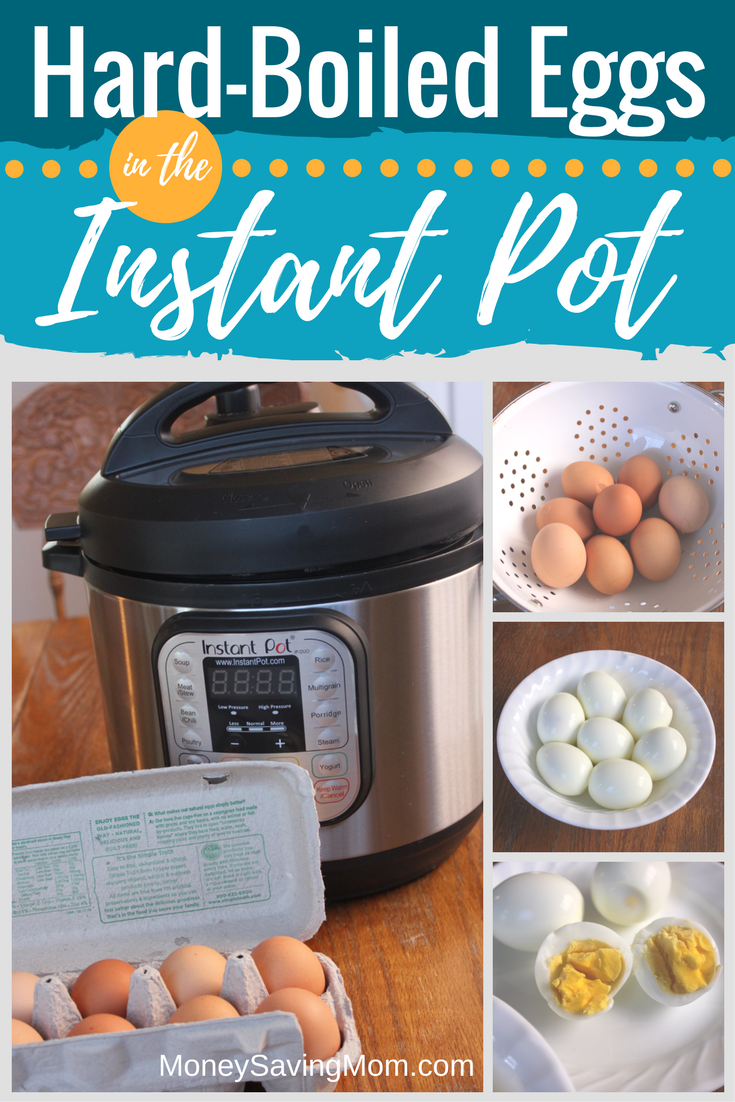 How to boil eggs in an Instant Pot. Not sure where to start with your Instant Pot? This is a great first-try recipe that will make it less intimidating, and it works every time!
