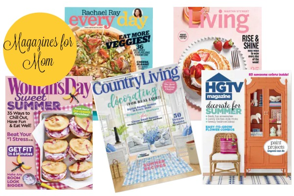 HUGE Mother's Day Magazine Sale: Subscriptions Starting Under $5!