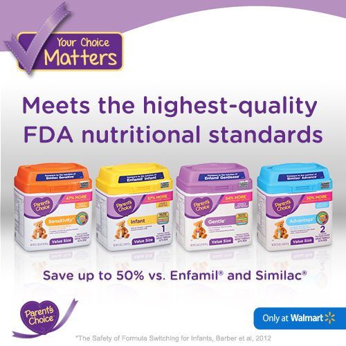 photo regarding Parents Choice Formula Coupons Printable identified as Help you save up in direction of 50% upon baby formulation with Mothers and fathers Option +