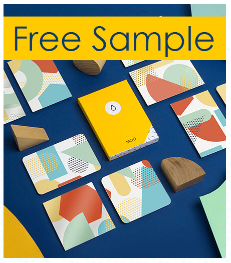 Free Moo Business Card Sample Pack + Free $30 Credit + Free Shipping!