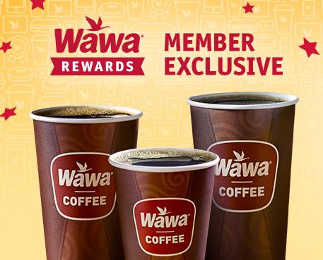 Wawa: Free coffee every Friday in March!